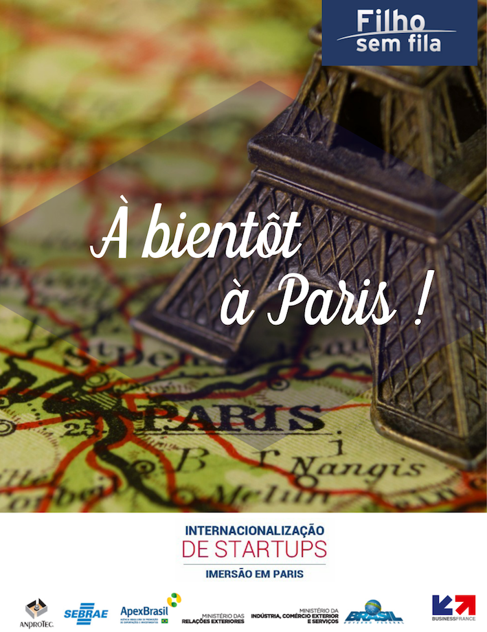 Filho sem Fila em Paris